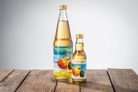Apfelsaft klar aus Streuobst
