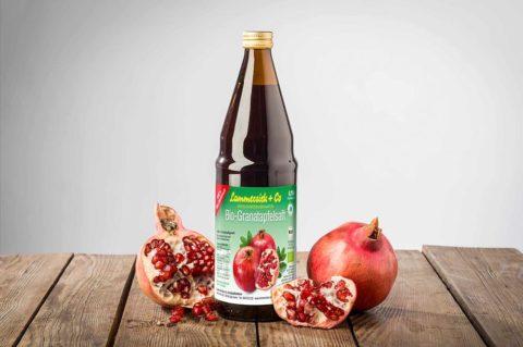 Bio-Granatapfel Direktsaft